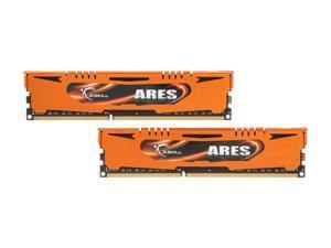G.SKILL Ares Series 8GB (2 x 4GB) 240-Pin DDR3 SDRAM DDR3 1600 (PC3 12800) Desktop Memory Model F3-1600C9D-8GAO
