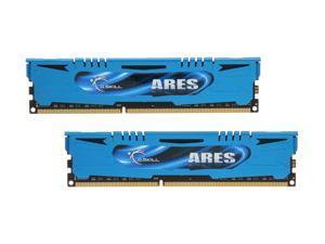 G.SKILL Ares Series 16GB (2 x 8GB) 240-Pin DDR3 SDRAM DDR3 1866 (PC3 14900) Desktop Memory Model F3-1866C10D-16GAB