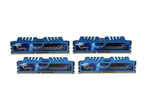 G.SKILL Ripjaws X Series 32GB (4 x 8GB) 240-Pin DDR3 SDRAM DDR3 1600 (PC3 12800) Desktop Memory Model F3-1600C9Q-32GXM