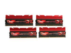G.SKILL TridentX Series 16GB (4 x 4GB) 240-Pin DDR3 SDRAM DDR3 2400 (PC3 19200) Desktop Memory Model F3-2400C10Q-16GTX
