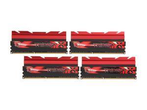 G.SKILL TridentX Series 32GB (4 x 8GB) 240-Pin DDR3 SDRAM DDR3 2400 (PC3 19200) Desktop Memory Model F3-2400C10Q-32GTX