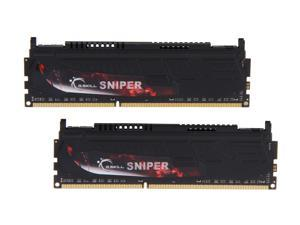 G.SKILL Sniper Gaming Series 16GB (2 x 8GB) 240-Pin DDR3 SDRAM DDR3 1866 (PC3 14900) Desktop Memory Model F3-1866C10D-16GSR