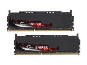 G.SKILL Sniper Series 16GB (2 x 8GB) 240-Pin DDR3 SDRAM DDR3 1866 (PC3 14900) Desktop Memory Model F3-1866C9D-16GSR