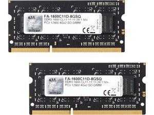 G.SKILL 8GB (2 x 4GB) DDR3 1600 (PC3 12800) Memory for Apple Model FA-1600C11D-8GSQ