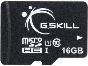 G.Skill 16GB microSDHC UHS-I/U1 Class 10 Memory Card without Adapter (FF-TSDG16GN-C10)