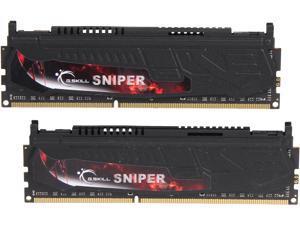 G.SKILL Sniper Series 16GB (2 x 8GB) 240-Pin DDR3 SDRAM DDR3 2133 (PC3 17000) Desktop Memory Model F3-2133C10D-16GSR