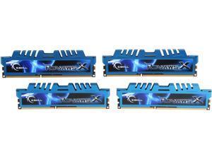 G.SKILL Ripjaws X Series 16GB (4 x 4GB) 240-Pin DDR3 SDRAM DDR3 2400 (PC3 19200) Desktop Memory Model F3-2400C11Q-16GXM