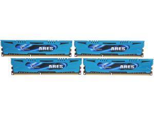 G.SKILL Ares Series 32GB (4 x 8GB) 240-Pin DDR3 SDRAM DDR3 2400 (PC3 19200) Desktop Memory Model F3-2400C11Q-32GAB