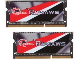 G.SKILL Ripjaws Series 16GB (2 x 8GB) 204-Pin DDR3 SO-DIMM DDR3L 1600 (PC3L 12800) Laptop Memory Model F3-1600C11D-16GRSL