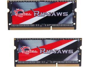 G.SKILL Ripjaws Series 16GB (2 x 8GB) 204-Pin DDR3 SO-DIMM DDR3L 1866 (PC3L 14900) Laptop Memory Model F3-1866C11D-16GRSL