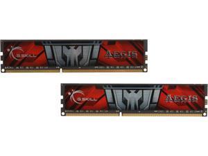 G.SKILL AEGIS 16GB (2 x 8GB) 240-Pin DDR3 SDRAM DDR3L 1600 (PC3L 12800) Desktop Memory Model F3-1600C11D-16GISL