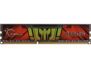G.SKILL AEGIS 4GB 240-Pin DDR3 SDRAM DDR3 1333 (PC3 10600) Desktop Memory Model F3-1333C9S-4GIS