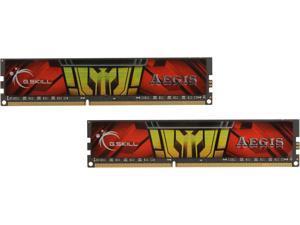 G.SKILL AEGIS 16GB (2 x 8GB) 240-Pin DDR3 SDRAM DDR3 1333 (PC3 10600) Desktop Memory Model F3-1333C9D-16GIS