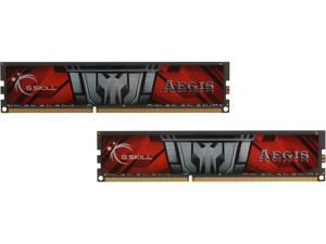 G.SKILL AEGIS 16GB (2 x 8GB) 240-Pin DDR3 SDRAM DDR3 1600 (PC3 12800) Desktop Memory Model F3-1600C11D-16GIS