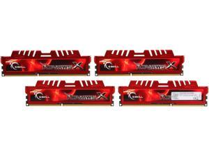 G.SKILL Ripjaws X Series 32GB (4 x 8GB) 240-Pin DDR3 SDRAM DDR3 2133 (PC3 17000) Desktop Memory Model F3-2133C11Q-32GXL