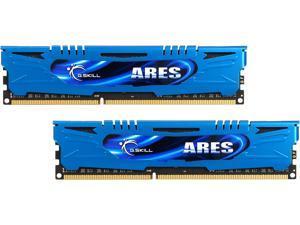G.SKILL Ares Series 16GB (2 x 8GB) 240-Pin DDR3 SDRAM DDR3 1600 (PC3 12800) Intel Z87/ Z77/ Z68/ P67 Low Profile Extreme Performance Memory Model F3-1600C9D-16GAB