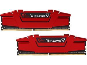G.SKILL Ripjaws V Series 16GB (2 x 8GB) 288-Pin DDR4 SDRAM DDR4 2400 (PC4 19200) Desktop Memory Model F4-2400C15D-16GVR