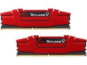 G.SKILL Ripjaws V Series 8GB (2 x 4GB) 288-Pin DDR4 SDRAM DDR4 2666 (PC4 21300) Desktop Memory Model F4-2666C15D-8GVR