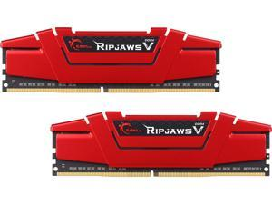 G.SKILL Ripjaws V Series 16GB (2 x 8GB) 288-Pin DDR4 SDRAM DDR4 2666 (PC4 21300) Desktop Memory Model F4-2666C15D-16GVR