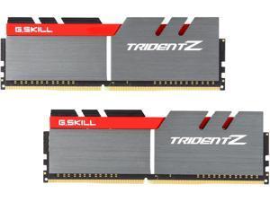 G.SKILL TridentZ Series 16GB (2 x 8GB) 288-Pin DDR4 SDRAM DDR4 3400 (PC4 27200) Intel Z370 Platform Desktop Memory Model F4-3400C16D-16GTZ