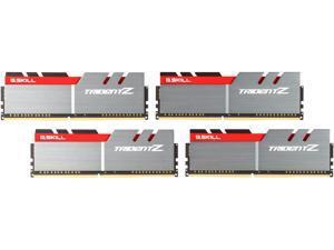 G.SKILL TridentZ Series 32GB (4 x 8GB) 288-Pin DDR4 SDRAM DDR4 3400 (PC4 27200) Intel Z370 Platform Desktop Memory Model F4-3400C16Q-32GTZ