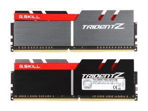 G.SKILL TridentZ Series 32GB (4 x 8GB) 288-Pin DDR4 SDRAM DDR4 3200 (PC4 25600) Intel Z370 Platform Desktop Memory Model F4-3200C16Q-32GTZB