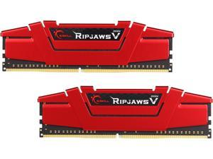 G.SKILL Ripjaws V Series 8GB (2 x 4GB) 288-Pin DDR4 SDRAM DDR4 3000 (PC4 24000) Desktop Memory Model F4-3000C15D-8GVRB