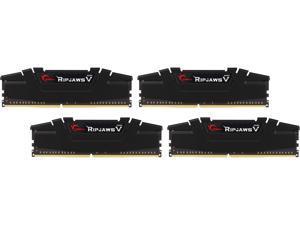 G.SKILL Ripjaws V Series 16GB (4 x 4GB) 288-Pin DDR4 SDRAM DDR4 3200 (PC4 25600) Desktop Memory Model F4-3200C16Q-16GVKB
