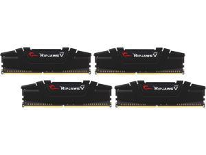 G.SKILL Ripjaws V Series 32GB (4 x 8GB) 288-Pin DDR4 SDRAM DDR4 3200 (PC4 25600) Intel XMP 2.0 Desktop Memory Model F4-3200C16Q-32GVKB