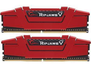 G.SKILL Ripjaws V Series 32GB (2 x 16GB) 288-Pin DDR4 SDRAM DDR4 2400 (PC4 19200) Desktop Memory Model F4-2400C15D-32GVR