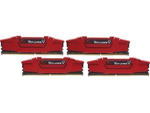 G.SKILL Ripjaws V Series 64GB (4 x 16GB) 288-Pin DDR4 SDRAM DDR4 3000 (PC4 24000) Desktop Memory Model F4-3000C15Q-64GVR
