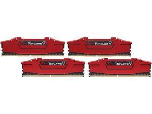 G.SKILL Ripjaws V Series 16GB (4 x 4GB) 288-Pin DDR4 SDRAM DDR4 3200 (PC4 25600) Desktop Memory Model F4-3200C16Q-16GVRB