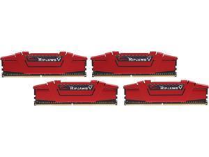 G.SKILL Ripjaws V Series 32GB (4 x 8GB) 288-Pin DDR4 SDRAM DDR4 3200 (PC4 25600) Desktop Memory Model F4-3200C16Q-32GVRB
