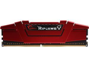 G.SKILL Ripjaws V Series 8GB 288-Pin DDR4 SDRAM DDR4 2400 (PC4 19200) Desktop Memory Model F4-2400C15S-8GVR