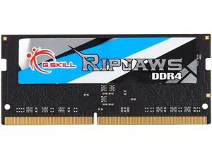 G.SKILL Ripjaws Series 4GB 260-Pin DDR4 SO-DIMM DDR4 2400 (PC4 19200) Laptop Memory Model F4-2400C16S-4GRS