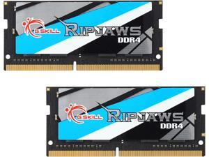 G.SKILL Ripjaws Series 16GB (2 x 8GB) 260-Pin DDR4 SO-DIMM DDR4 2400 (PC4 19200) Laptop Memory Model F4-2400C16D-16GRS