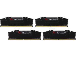 G.SKILL Ripjaws V Series 32GB (4 x 8GB) 288-Pin DDR4 SDRAM DDR4 3400 (PC4 27200) Desktop Memory Model F4-3400C16Q-32GVK