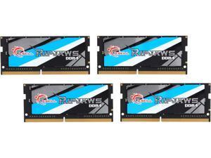 G.SKILL Ripjaws Series 32GB (4 x 8GB) 260-Pin DDR4 SO-DIMM DDR4 2400 (PC4 19200) Laptop Memory Model F4-2400C16Q-32GRS