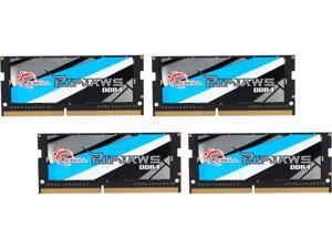 G.SKILL Ripjaws Series 32GB (4 x 8GB) 260-Pin DDR4 SO-DIMM DDR4 2666 (PC4 21300) Laptop Memory Model F4-2666C18Q-32GRS