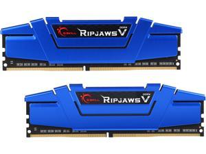G.SKILL Ripjaws V Series 16GB (2 x 8GB) 288-Pin DDR4 SDRAM DDR4 2400 (PC4 19200) Desktop Memory Model F4-2400C15D-16GVB