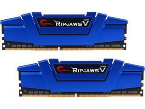 G.SKILL Ripjaws V Series 16GB (2 x 8GB) 288-Pin DDR4 SDRAM DDR4 2666 (PC4 21300) Desktop Memory Model F4-2666C15D-16GVB