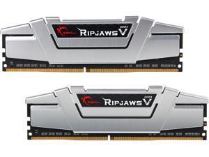 G.SKILL Ripjaws V Series 16GB (2 x 8GB) 288-Pin DDR4 SDRAM DDR4 2666 (PC4 21300) Desktop Memory Model F4-2666C15D-16GVS