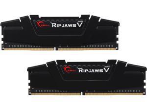 G.SKILL Ripjaws V Series 16GB (2 x 8GB) 288-Pin DDR4 SDRAM DDR4 3600 (PC4 28800) Desktop Memory Model F4-3600C16D-16GVK