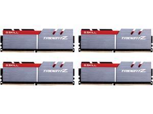 G.SKILL TridentZ Series 64GB (4 x 16GB) 288-Pin DDR4 SDRAM DDR4 3200 (PC4 25600) Intel Z370 Platform Desktop Memory Model F4-3200C14Q-64GTZ