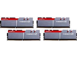 G.SKILL TridentZ Series 64GB (4 x 16GB) 288-Pin DDR4 SDRAM DDR4 3200 (PC4 25600) Intel Z370 Platform Desktop Memory Model F4-3200C15Q-64GTZ