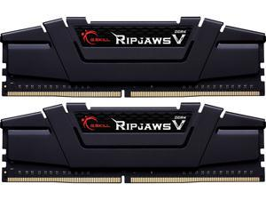 G.SKILL Ripjaws V Series 32GB (2 x 16GB) 288-Pin DDR4 SDRAM DDR4 3000 (PC4 24000) Desktop Memory Model F4-3000C14D-32GVK