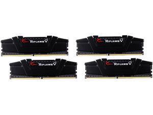 G.SKILL Ripjaws V Series 64GB (4 x 16GB) 288-Pin DDR4 SDRAM DDR4 3200 (PC4 25600) Desktop Memory Model F4-3200C15Q-64GVK
