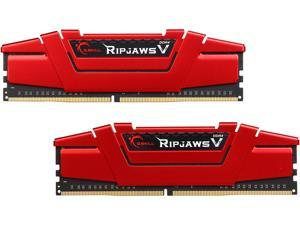 G.SKILL Ripjaws V Series 16GB (2 x 8GB) 288-Pin DDR4 SDRAM DDR4 3000 (PC4 24000) Desktop Memory Model F4-3000C14D-16GVR