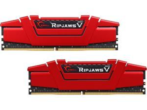 G.SKILL Ripjaws V Series 32GB (2 x 16GB) 288-Pin DDR4 SDRAM DDR4 3000 (PC4 24000) Desktop Memory Model F4-3000C14D-32GVR