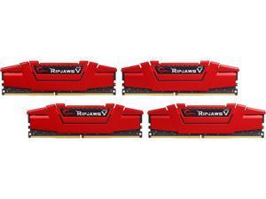 G.SKILL Ripjaws V Series 64GB (4 x 16GB) 288-Pin DDR4 SDRAM DDR4 3000 (PC4 24000) Desktop Memory Model F4-3000C14Q-64GVR